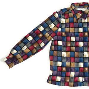 Alfred Dunner Multi-Color Buttondown Top 16